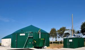 Biogasanlagenbau